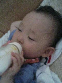 今日の・・・ねむねむミルク