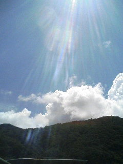 今日の・・・空