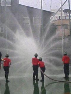 今日の・・・消防