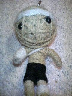 今日の・・・身代わり人形