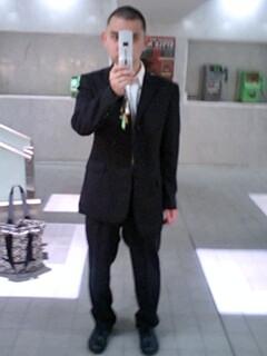 今日の・・・スーツ